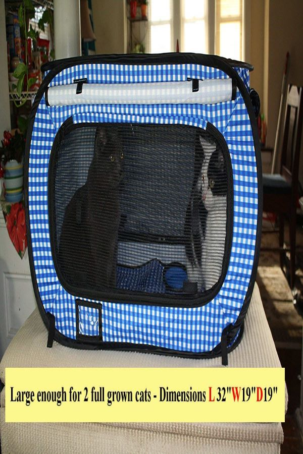 Best-cat-carrier-for-long-distance-car-travel-Portable-Cat-Cage