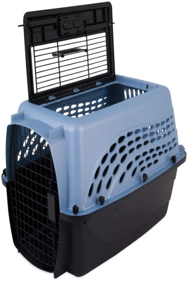 Petmate-Two-Door-Top-Load-Pet-KennelBest-cat-carrier-for-long-distance-travel