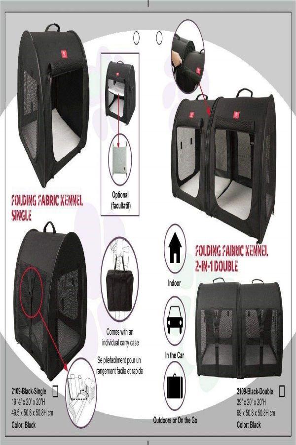 Portable-2-in-1-Double-Pet-Kennel-Cat-carrier-for-long-distance