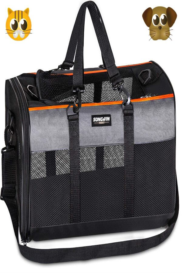 Soft-Sided-Pet-Travel-Carrier, Airline-Approved-cat-Carriers For Nervous-cat
