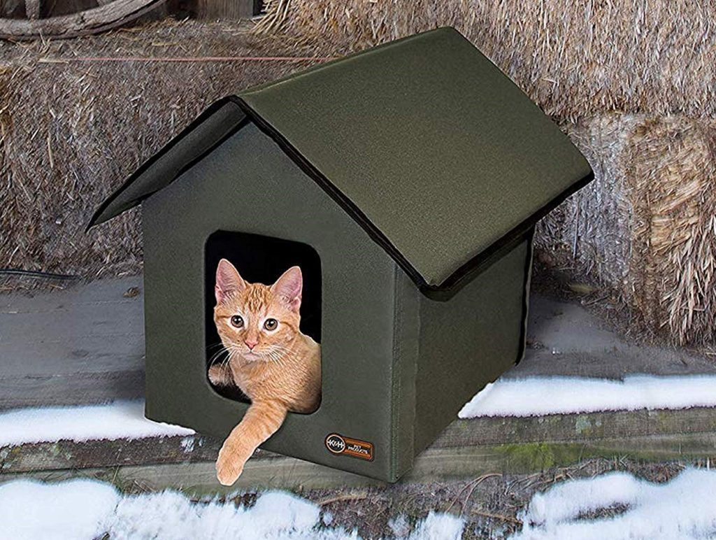 best-heated-cat-house