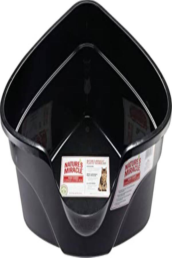 Miracle Advanced High Sided Corner Litter Box